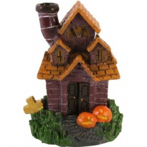 Incense Holder~ Incense Cone Burner Haunted Halloween House by Nemesis Now~ Folio Gothic Hippy
